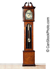 Grandfather clock - A very old grandfather clock stood the...