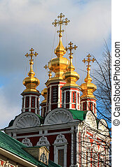 beautiful church of the Transfiguration - Detail of the...