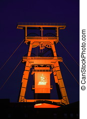 Mining Industry Shaft Tower