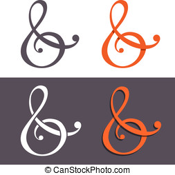 Custom ampersands - Custom ampersand for wedding invitation....