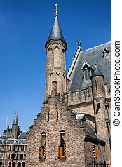 Ridderzaal of the Binnenhof in Den Haag - Gothic...