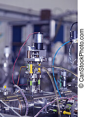 Details of ION accelerator - View of Important electronic...