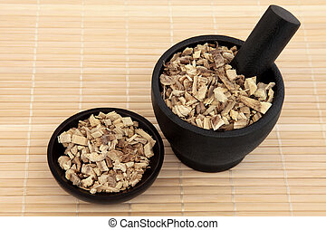 Licorice Root - Licorice root used in chinese herbal...