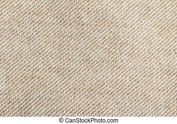 laine, tissu, couleur, haut,  beige, fin