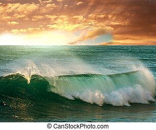 Sea sunset - sea sunset