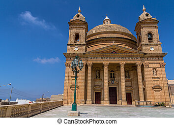 The Mgarr Church - The Mgarr church in the republic of...