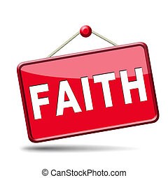 faith icon - faith trust and belief in god jesus christ and...