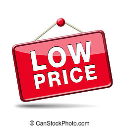 low price icon - lowest price special offer bargain and...