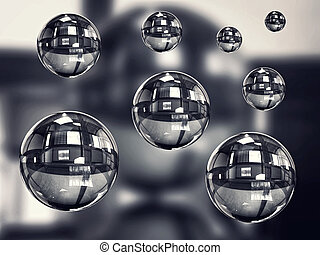Transparent spherical - Background transparent spherical