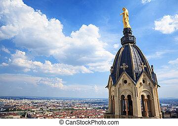 Golden Statue of Virgin Mary - View Golden Statue of Virgin...