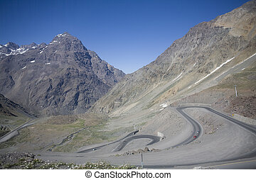Andes - The Andes form the worlds longest exposed mountain...
