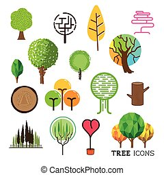 Tree and Forest Icons