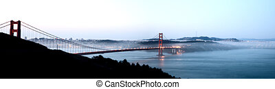 San Fransisco Skyline night shot from high viewpoint...