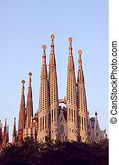 Sagrada Familia in Barcelona, by G - Sagrada Familia in...