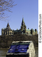 Information plaques for Parliament Hill