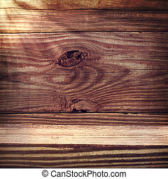 Aged rustic wooden planks - Aged rustic wooden boards with...