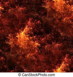 Seamless tileable fire pattern - Seamless tileable red fire...