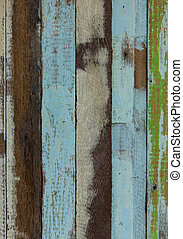 wooden planks texture with cracked color paint for...