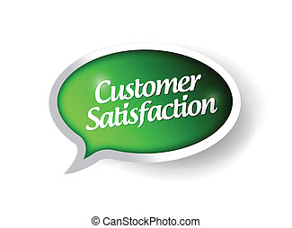 customer satisfaction message