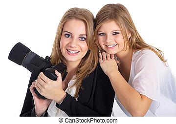 2 photographers