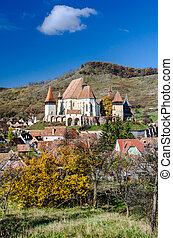 Biertan fortified church, Transylvania - Biertan is one of...