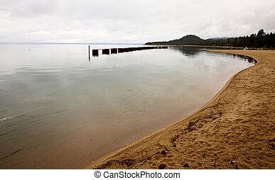 Nevada,  california, lago,  tahoe