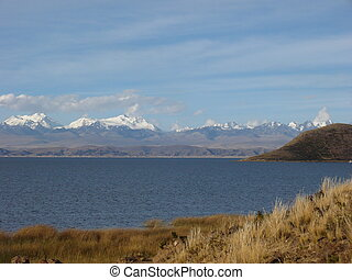 Andy, the lake Ttitcaca - Andy Peru and Bolivia, the lake...