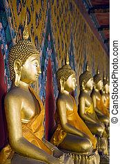 tailandés, Budas
