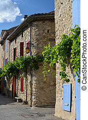 impressions of Provence - little village in Provence, south...