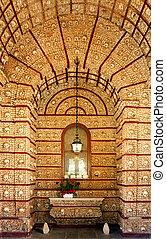 """""""Igreja do Carmo"""" Bone chapel, Faro, Algarve. - """"Igreja do..."""
