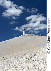 Mont Ventoux - view on Mont Ventoux in Provence, France....