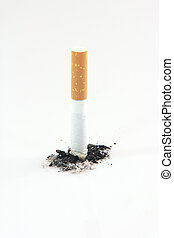 quit smoking - health and addiction concepts cigarette and...
