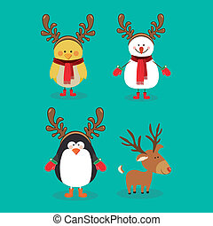 christmas design over background vector illustration