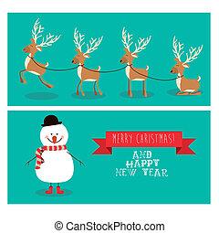merry christmas design - merry christmas design over blue...