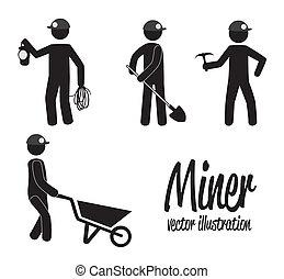 minero, diseño