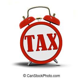 Tax Alert Clock Ringing