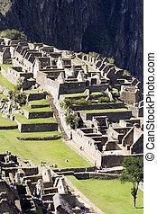 Machu Picchu - The Lost Incan City of Machu Picche near...