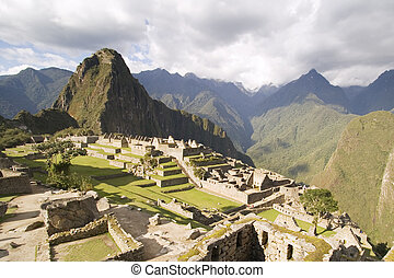 Machu Picchu - The Lost Incan City of Machu Picchu near...