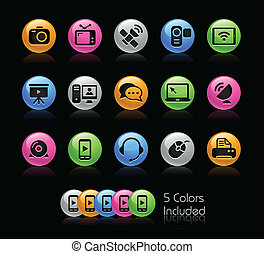 Communications - Gelcolor Serie - The Vector file includes 5...