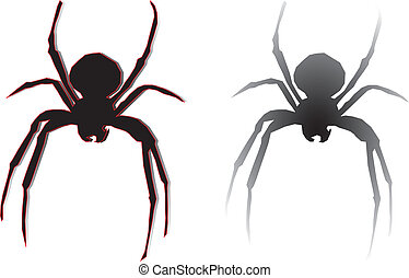 Spiders Silhouette