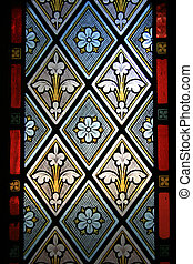 Stained Glass Window - Old St Paul\'s, Wellington, New...