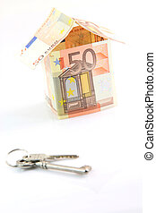 money house and keys