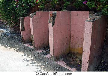 Public toilet in Jaipur, India