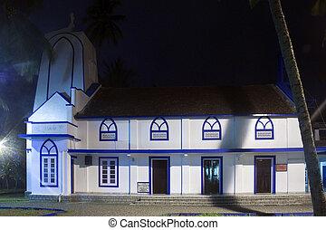 Old church in Kochi, Kerala, India