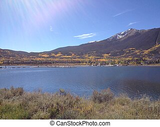 Dillon Lake in the Fall