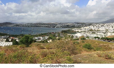 Bodrum Bay pan shoot - very famous place travel destination...