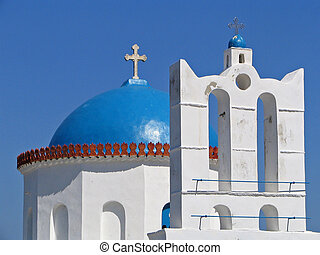 Church in the cyclades