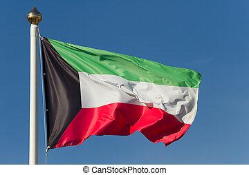Flag of Kuwait - The national flag of Kuwait