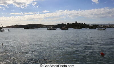 Bodrum Bay (pan shoot) - very famous place travel...