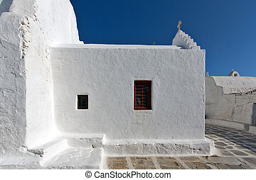 White Church on Mykonos